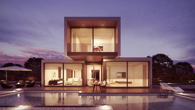 Casas Modernas - Com Paredes de Vidro