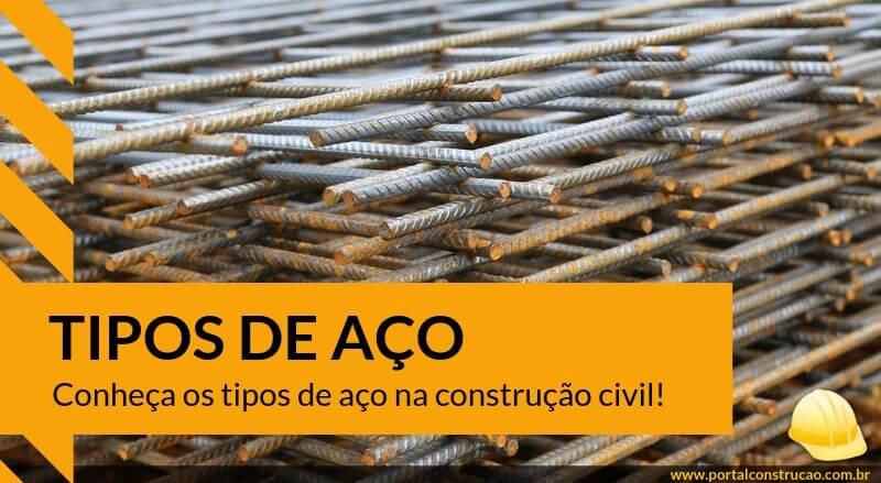 Aço para a construção civil