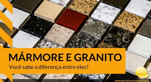 Você sabe a diferença entre mármore e granito? – Confira Aqui!